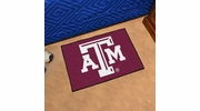 "Fan Mats 214  Texas A&M University Aggies 19"" x 30"" Starter Series Area Rug / Mat"