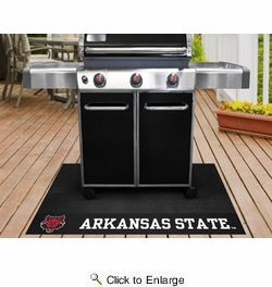 "Fan Mats 21624  Arkansas State University Red Wolves 26"" x 42"" Grill Mat"