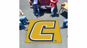 Fan Mats 2187  UTC - University of Tennessee at Chattanooga Mocs 5' x 6' Tailgater Mat / Area Rug