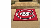 "Fan Mats 2283  St. Cloud State University Huskies 33.75"" x 42.5"" All-Star Series Area Rug / Mat"