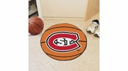 "Fan Mats 2285  St. Cloud State University Huskies 27"" Diameter Basketball Shaped Area Rug"
