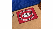 "Fan Mats 2286  St. Cloud State University Huskies 19"" x 30"" Starter Series Area Rug / Mat"