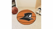 "Fan Mats 2342  PC - Providence College Friars 27"" Diameter Basketball Shaped Area Rug"