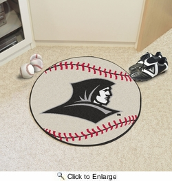 "Fan Mats 2347  PC - Providence College Friars 27"" Diameter Baseball Shaped Area Rug"