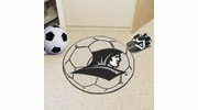 "Fan Mats 2348  PC - Providence College Friars 27"" Diameter Soccer Ball Shaped Area Rug"
