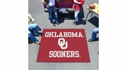 Fan Mats 2392  OU - University of Oklahoma Sooners 5' x 6' Tailgater Mat / Area Rug