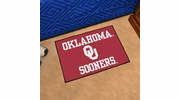 "Fan Mats 2394  OU - University of Oklahoma Sooners 19"" x 30"" Starter Series Area Rug / Mat"