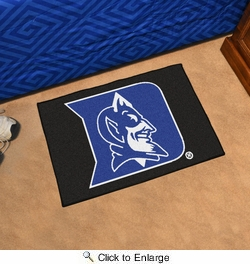 "Fan Mats 2629  Duke University Blue Devils 19"" x 30"" Starter Series Area Rug / Mat"