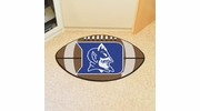 "Fan Mats 2635  Duke University Blue Devils 20.5"" x 32.5"" Football Shaped Area Rug"