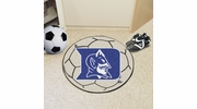 "Fan Mats 2637  Duke University Blue Devils 27"" Diameter Soccer Ball Shaped Area Rug"