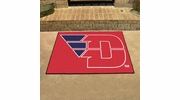 "Fan Mats 267  UD - University of Dayton Flyers 33.75"" x 42.5"" All-Star Series Area Rug / Mat"