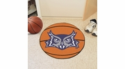 "Fan Mats 2699  Rice University Owls 27"" Diameter Basketball Shaped Area Rug"