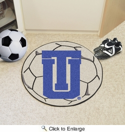 "Fan Mats 2758  TU - University of Tulsa Golden Hurricane 27"" Diameter Soccer Ball Shaped Area Rug"