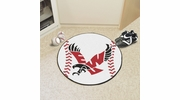 "Fan Mats 2999  Eastern Washington University Eagles 27"" diameter Baseball Mat"