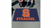 Fan Mats 3088  SU - Syracuse University Orange 5' x 8' Ulti-Mat Area Rug / Mat