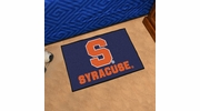 "Fan Mats 3089  SU - Syracuse University Orange 19"" x 30"" Starter Series Area Rug / Mat"