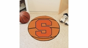 "Fan Mats 3094  SU - Syracuse University Orange 27"" Diameter Basketball Shaped Area Rug"