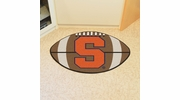 "Fan Mats 3096  SU - Syracuse University Orange 20.5"" x 32.5"" Football Shaped Area Rug"