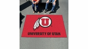 Fan Mats 3124  University of Utah Utes 5' x 8' Ulti-Mat Area Rug / Mat