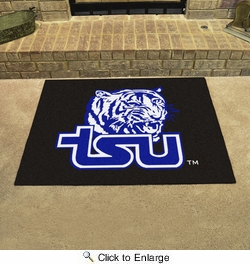 "Fan Mats 3262  Tennessee State University Tigers 33.75"" x 42.5"" All Star Mat"