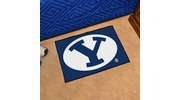 """Fan Mats 3270  BYU - Brigham Young University Cougars 19"""" x 30"""" Starter Series Area Rug / Mat"""