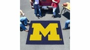 Fan Mats 3407  UM - University of Michigan Wolverines 5' x 6' Tailgater Mat / Area Rug