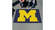 Fan Mats 3410  UM - University of Michigan Wolverines 5' x 8' Ulti-Mat Area Rug / Mat