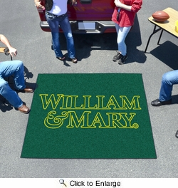 Fan Mats 3523  William & Mary Tribe 5' x 6' Tailgater Mat / Area Rug