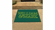 """Fan Mats 3525  William & Mary Tribe 33.75"""" x 42.5"""" All-Star Series Area Rug / Mat"""