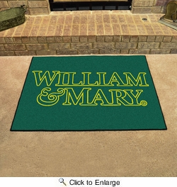 "Fan Mats 3525  William & Mary Tribe 33.75"" x 42.5"" All-Star Series Area Rug / Mat"