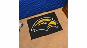 "Fan Mats 3728  USM - University of Southern Mississippi Golden Eagles 19"" x 30"" Starter Series Area Rug / Mat"