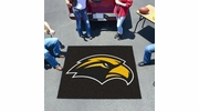 Fan Mats 3731  USM - University of Southern Mississippi Golden Eagles 5' x 6' Tailgater Mat / Area Rug