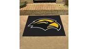 "Fan Mats 3734  USM - University of Southern Mississippi Golden Eagles 33.75"" x 42.5"" All-Star Series Area Rug / Mat"