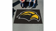 Fan Mats 3735  USM - University of Southern Mississippi Golden Eagles 5' x 8' Ulti-Mat Area Rug / Mat
