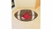 """Fan Mats 375  UCM - University of Central Missouri Mules 20.5"""" x 32.5"""" Football Shaped Area Rug"""