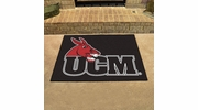 """Fan Mats 379  UCM - University of Central Missouri Mules 33.75"""" x 42.5"""" All-Star Series Area Rug / Mat"""