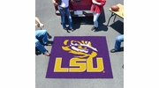 Fan Mats 3946  LSU - Louisiana State University Tigers 5' x 6' Tailgater Mat / Area Rug
