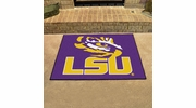 "Fan Mats 3950  LSU - Louisiana State University Tigers 33.75"" x 42.5"" All-Star Series Area Rug / Mat"