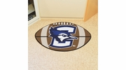 "Fan Mats 401  Creighton University Bluejays 20.5"" x 32.5"" Football Shaped Area Rug"