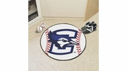 "Fan Mats 403  Creighton University Bluejays 27"" Diameter Baseball Shaped Area Rug"