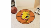 "Fan Mats 421  Ferris State University Bulldogs 27"" diameter Basketball Mat"