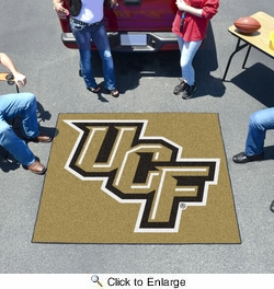 Fan Mats 4216  UCF - University of Central Florida Knights 5' x 6' Tailgater Mat / Area Rug