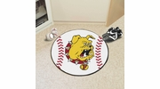 "Fan Mats 422  Ferris State University Bulldogs 27"" diameter Baseball Mat"