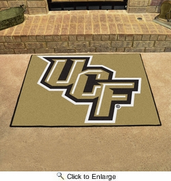 """Fan Mats 4220  UCF - University of Central Florida Knights 33.75"""" x 42.5"""" All-Star Series Area Rug / Mat"""