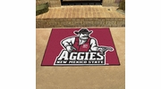 "Fan Mats 4223  NMSU - New Mexico State University Aggies 33.75"" x 42.5"" All-Star Series Area Rug / Mat"