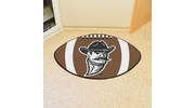 "Fan Mats 4230  NMSU - New Mexico State University Aggies 20.5"" x 32.5"" Football Shaped Area Rug"