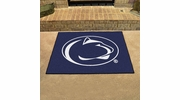 """Fan Mats 4238  PSU - Penn State Nittany Lions 33.75"""" x 42.5"""" All-Star Series Area Rug / Mat"""