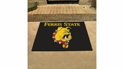 "Fan Mats 424  Ferris State University Bulldogs 33.75"" x 42.5"" All Star Mat"