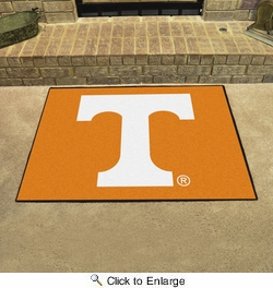 "Fan Mats 4380  UTK - University of Tennessee Volunteers 33.75"" x 42.5"" All-Star Series Area Rug / Mat"