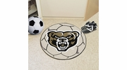 "Fan Mats 4384  Oakland University Golden Grizzlies 27"" diameter Soccer Ball Mat"